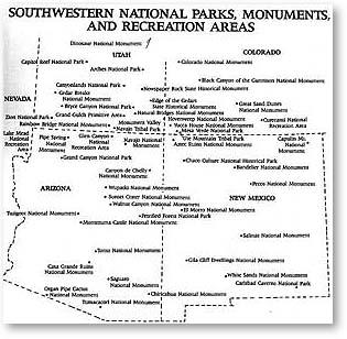 parks and monuments