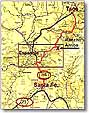 Northern NM Map
